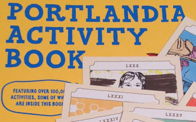 Thumbnail for 03/25/2014: Portlandia Activity Book