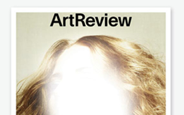 Thumbnail for 04/02/2014: Art Review magazine covers