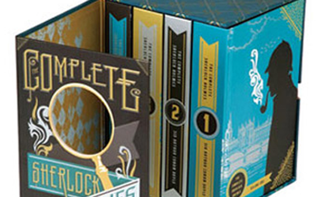 Thumbnail for 05/21/2014: The Complete Sherlock Holmes Book Covers