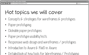 Thumbnail for UX Design Course Preview: Wireframes and Prototypes