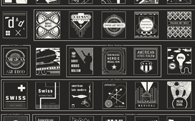Thumbnail for 05/01/2014: Graphic Design History in Icons