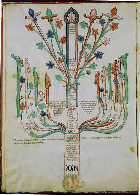 """""""Tree-eagle"""" (1202): a representation of """"the advent of the age of the Holy Spirit,"""" via Princeton Architectural Press."""