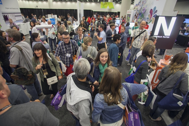 HDL Exhibit Hall; web design conference