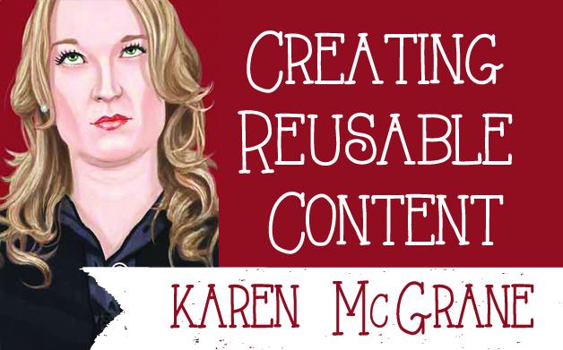 Thumbnail for Karen McGrane on Creating Reusable Content