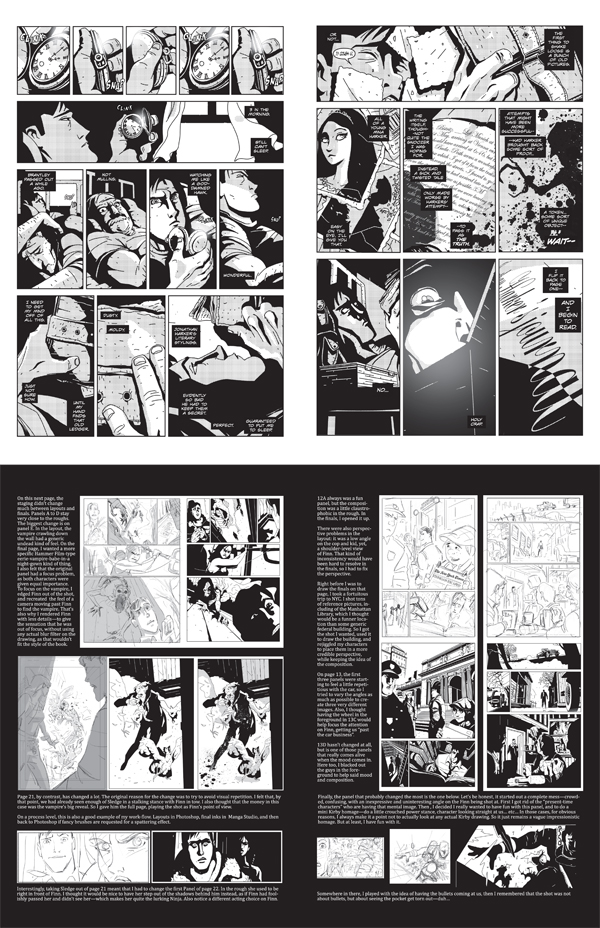 """A fifth tip is to always be on the lookout for worthwhile work from independents. One of my discoveries was Stephan Franck's soon-to-be-released series, """"Silver,"""" a supernatural 1930s noir pulp adventure from Dark Planet Comics that Batman artist Tim Sale described as """"a fast-moving, thrill-filled story... a really, really fun ride."""""""