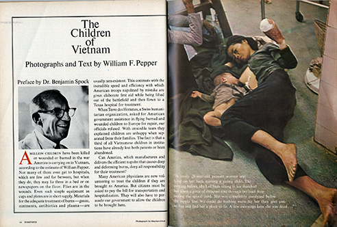 War dominated all our lives. I made drawings for some anti-war groups, more as a tonic for me than any hope of making a dent of difference. Photographs told the story of the cost of U.S. involvement in Vietnam.