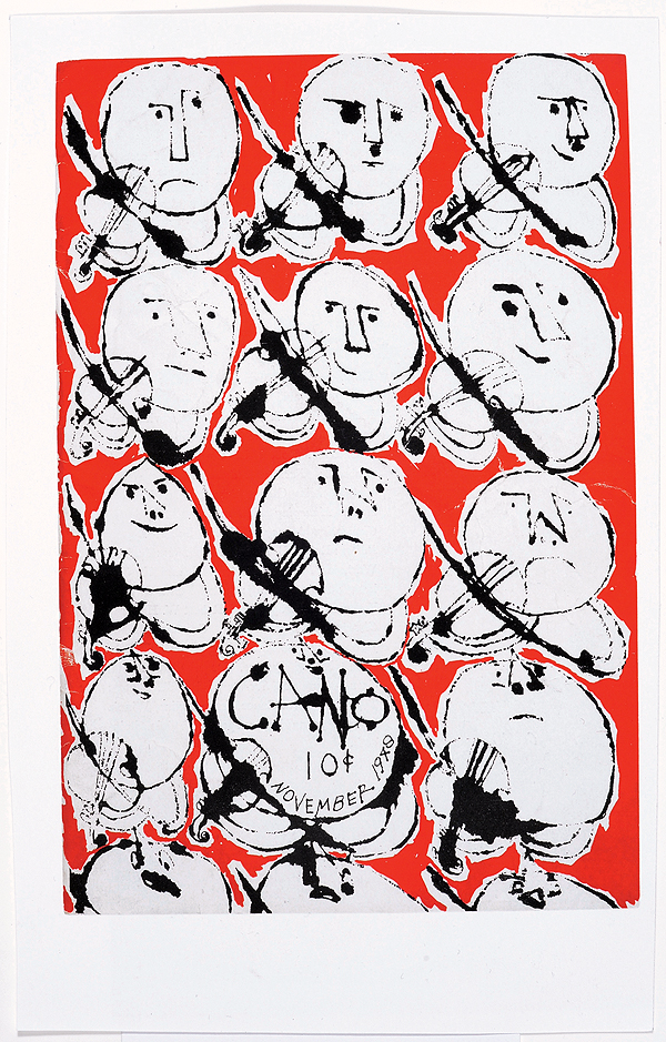 Cano cover, November 1948. © 2014 The Andy Warhol Foundation for the Visual Arts, Inc. / Artists Rights Society (ARS), New York