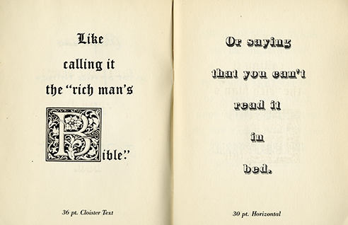 Leo Lionni -  when he produced the oddly titled How to Read Fortune In Bed