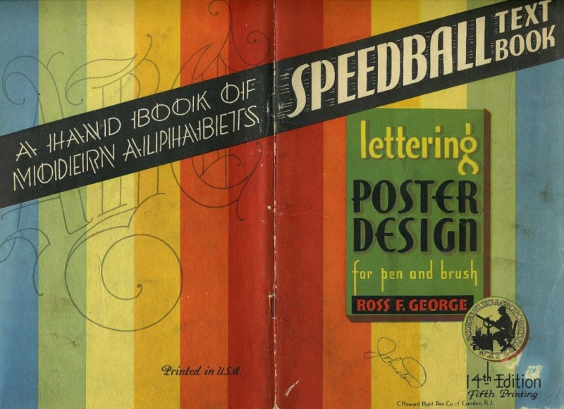 Thumbnail for The Vintage Speedball Textbook