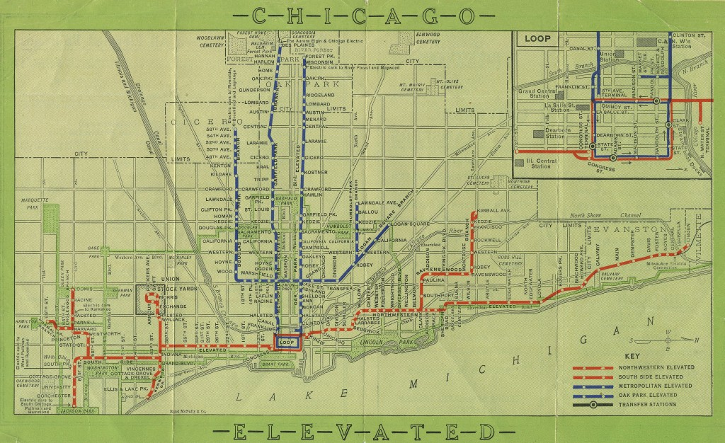 """Thumbnail for Keeping Everyone in the Loop: 50 Years of Chicago """"L"""" Graphics"""