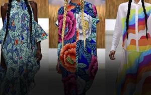 Thumbnail for Color & Pattern Run (Gloriously) Amok at NYC Fashion Week 2015