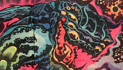 Thumbnail for Design Influence & Inspiration in Jack Kirby's Comic Art