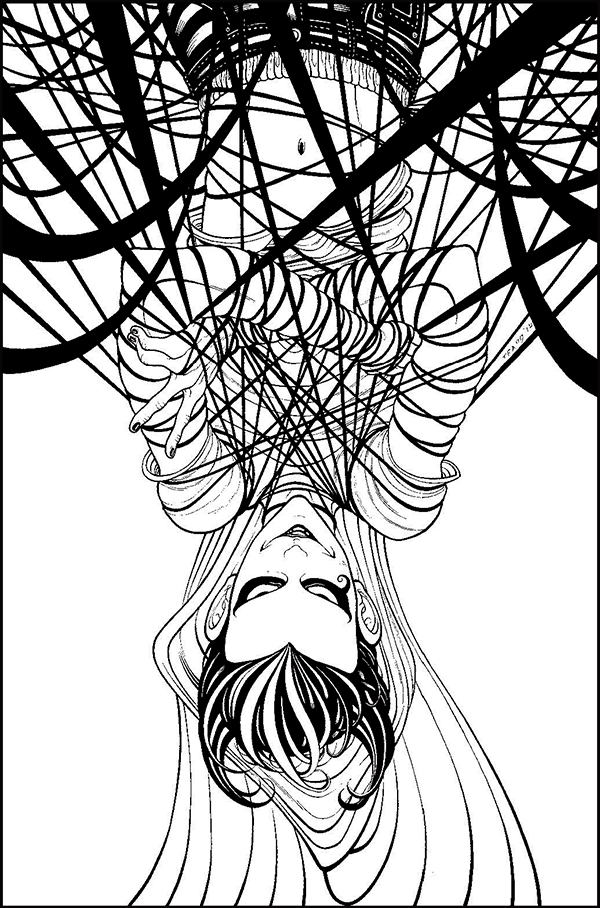 Klarion #4, 2015. Tradd Moore: pencils and inks.