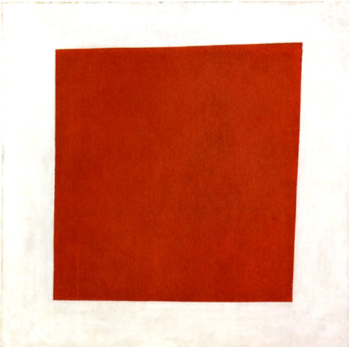 Malevich's 1915 Red Square (Painterly Realism of a Peasant Woman in Two Dimensions).
