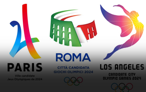 Thumbnail for 2024 Summer Olympics City Bid Logos: Siegel+Gale Weighs In
