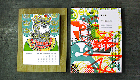 Thumbnail for Folklore & Letterpress: A Beautiful Calendar by Studio on Fire