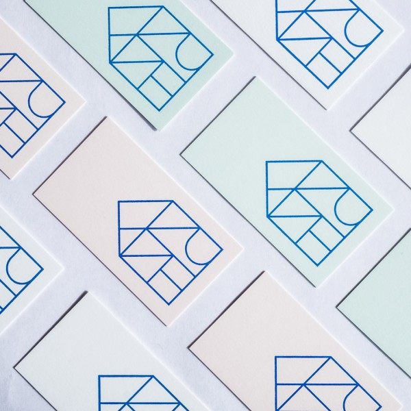 Eric Trine letterpressed business cards by Seattle design firm Civilization