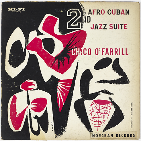 cover, 2nd Afro Cuban Jazz suite