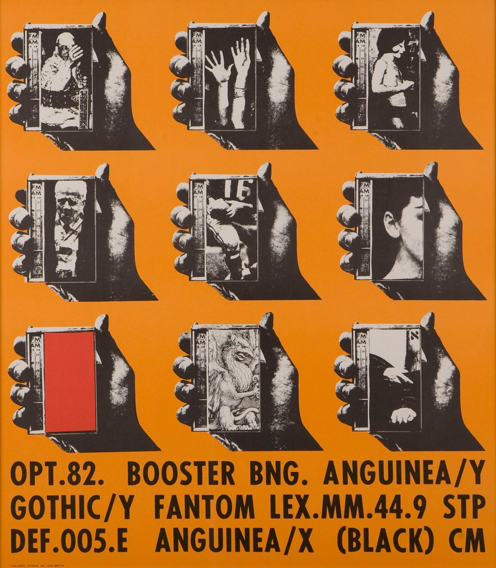 Wallace Berman: Untitled poster, 1967