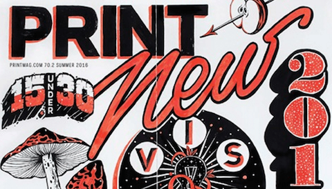 Thumbnail for Print's Summer Issue: The 2016 New Visual Artists