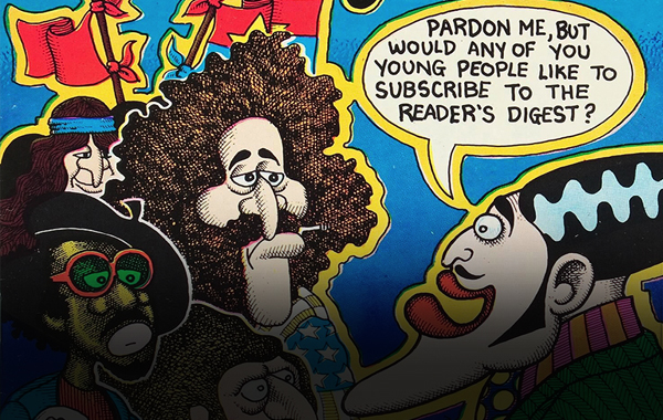 Thumbnail for Skip Williamson & Jay Lynch Kept the Fun in Underground Funnies