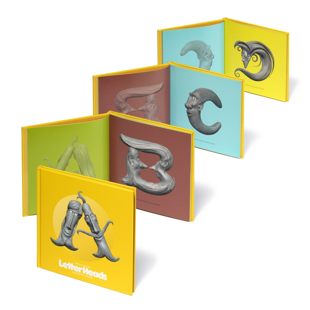 Letter Heads Book