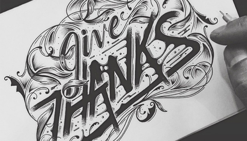 Thumbnail for Thanksgiving Hand Lettering Inspiration