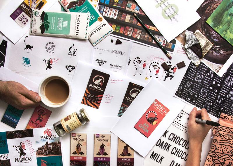 Madecasse branding and design