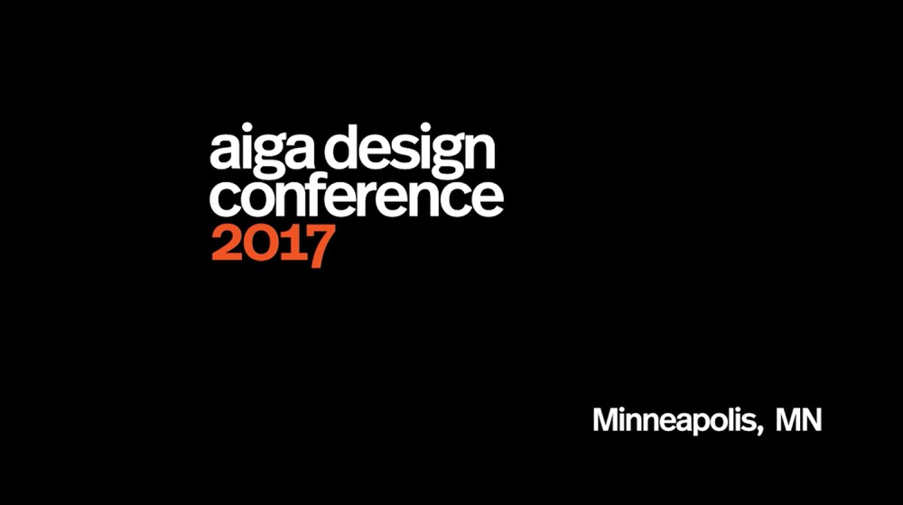 AIGA National Conference Video