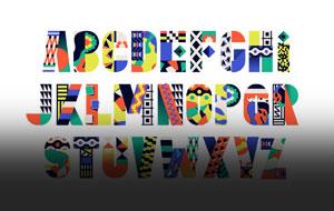 Thumbnail for Bauhaus Letterforms + Kenyan Design = A Very Mod Mashup