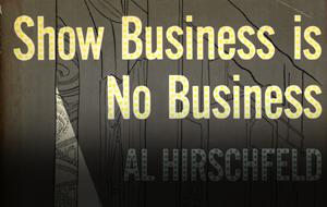 Thumbnail for Al Hirschfeld's Comic Book Design Wit