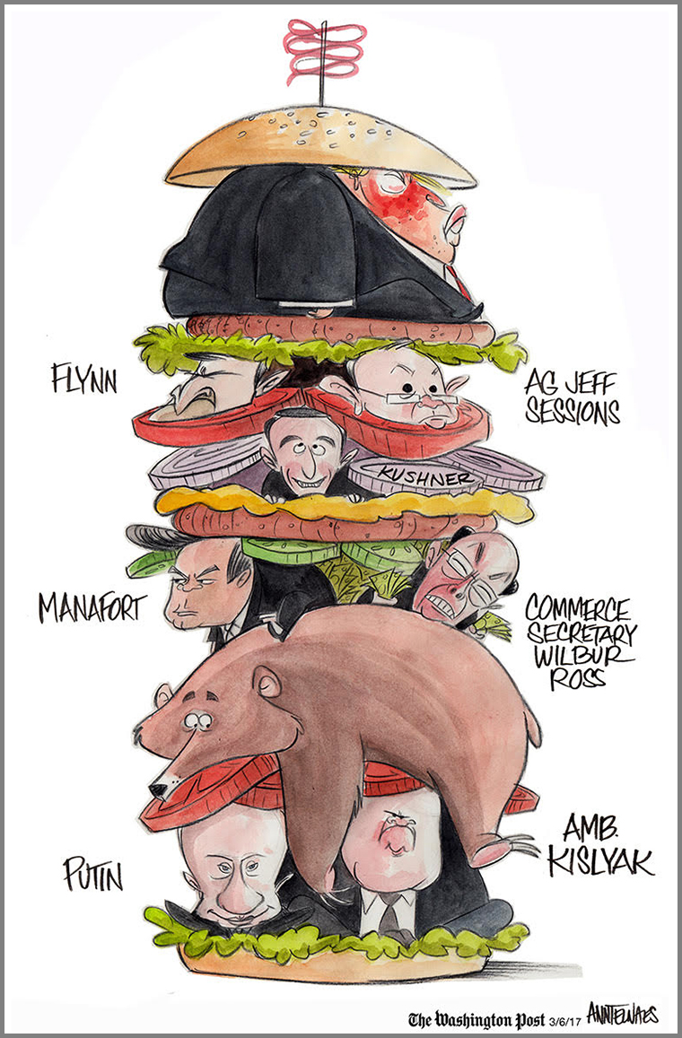 """Sen. Ted Cruz described Attorney General Jeff Sessions's conversation with the Russian ambassador as a """"nothing burger."""""""