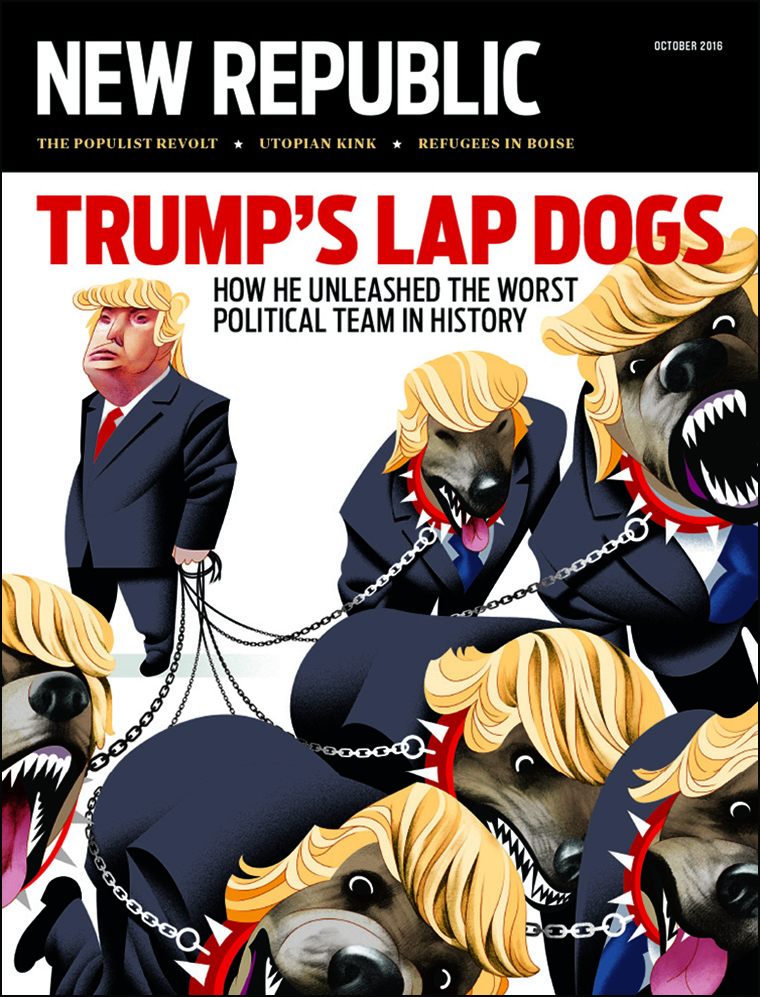 Lap Dogs cover for new republic