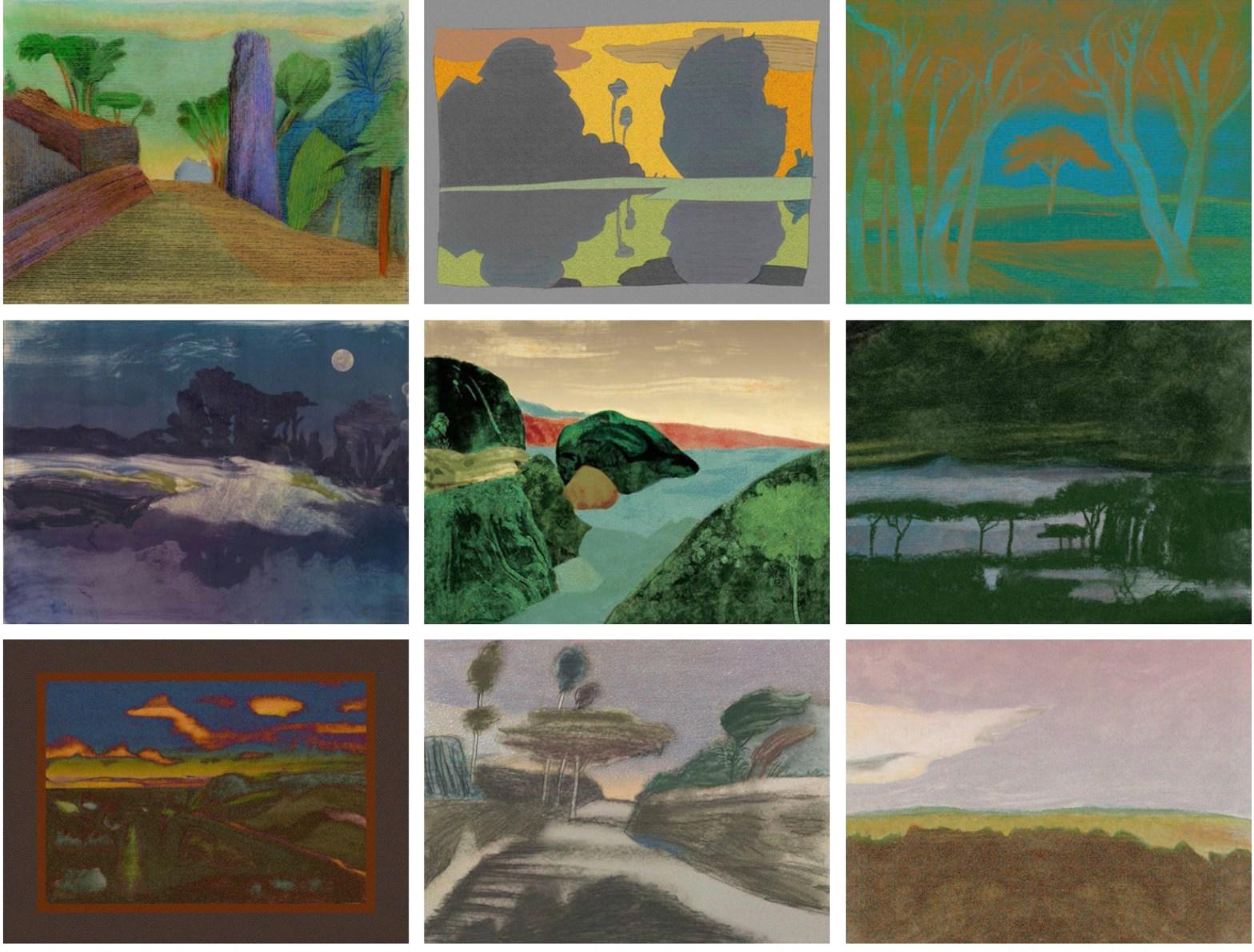 Thumbnail for Landscapes by Glaser