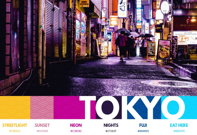 Thumbnail for Color Themes from 12 Major Cities Across the World