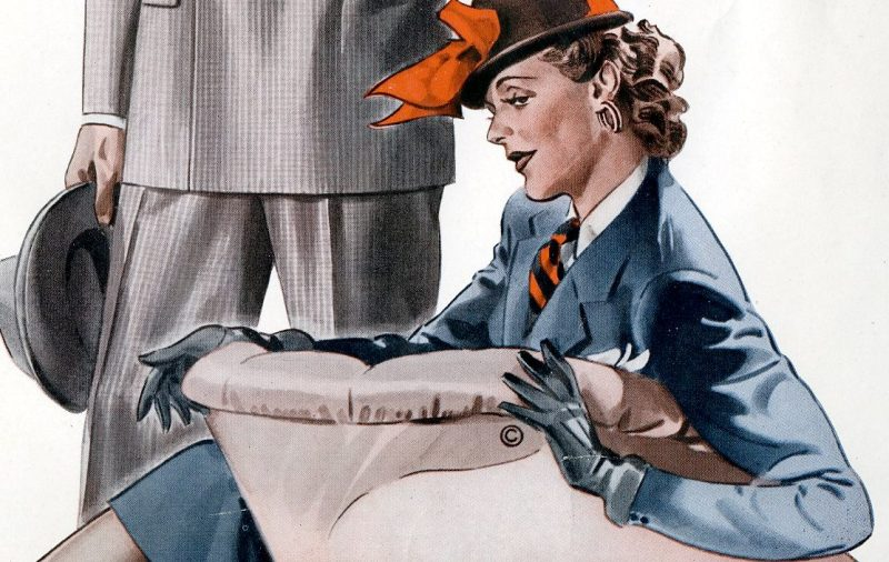 Thumbnail for 1940s Fashion   What The Best Dressed Civilians Wore