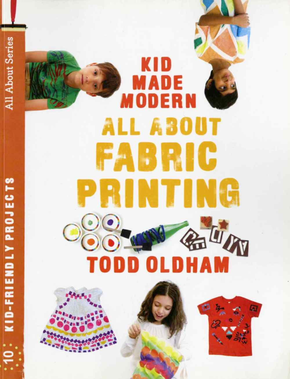 Kid Made Modern all about fabric printing
