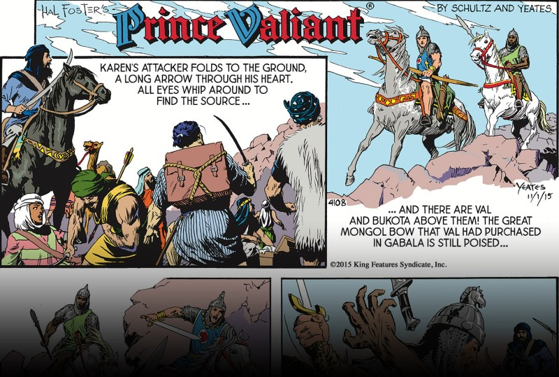 Thumbnail for Prince Valiant's Story, As Told by Mark Schultz