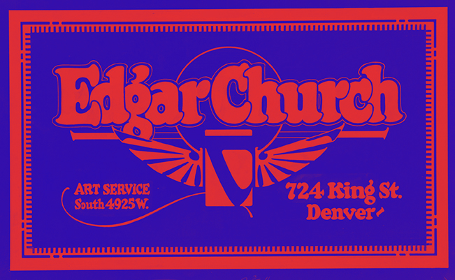 Thumbnail for The Church Lettering Art Style