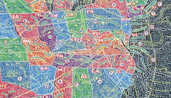 Thumbnail for Paula Scher's Mind-Bending Maps