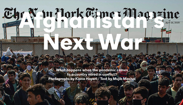 Thumbnail for Covering COVID With The New York Times Magazine
