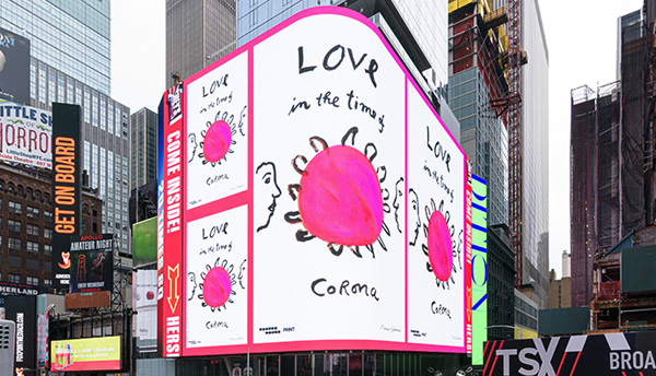 Thumbnail for #CombatCovid: Design Takes Over Times Square