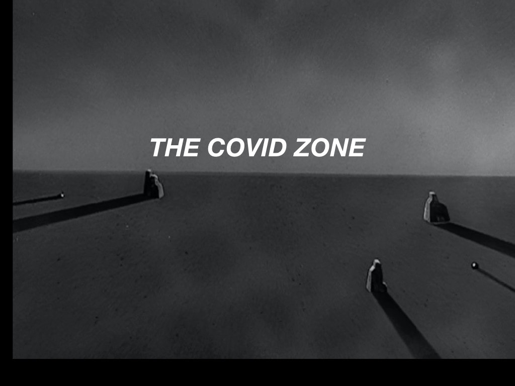 Thumbnail for The Daily Heller: The COVID Zone