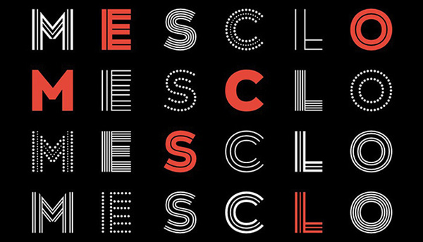 Thumbnail for Type Tuesday: Mesclo's Delightful Geometry