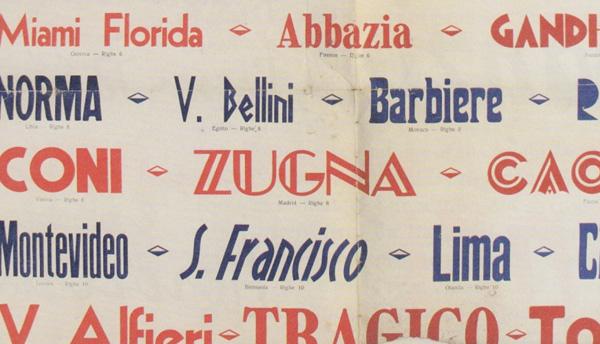 Thumbnail for The Daily Heller: Ciao, Tipografia Italiana