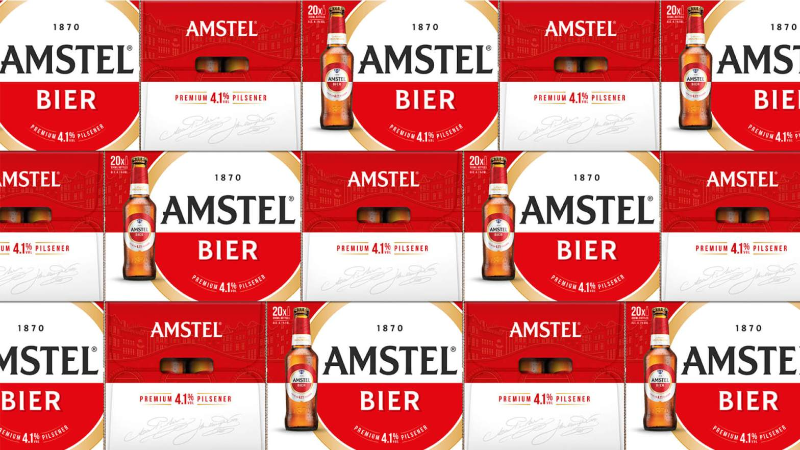 Thumbnail for Brand of the Day: Elmwood Tightens Up Amstel's Identity