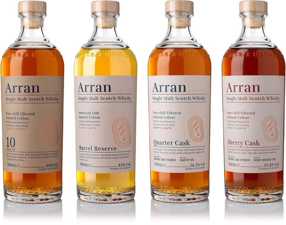 Thumbnail for Brand of the Day: Arran Single Malt