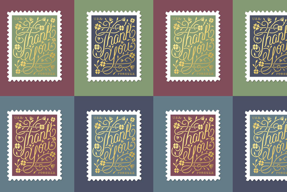 Thumbnail for A Graphic Designer's Stamp Collection
