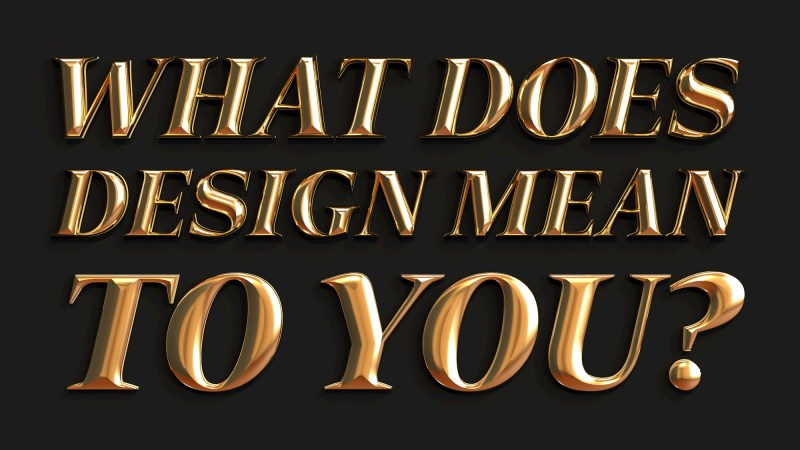 Thumbnail for Adobe and PRINT Want to Know: What Does Design Mean to You?