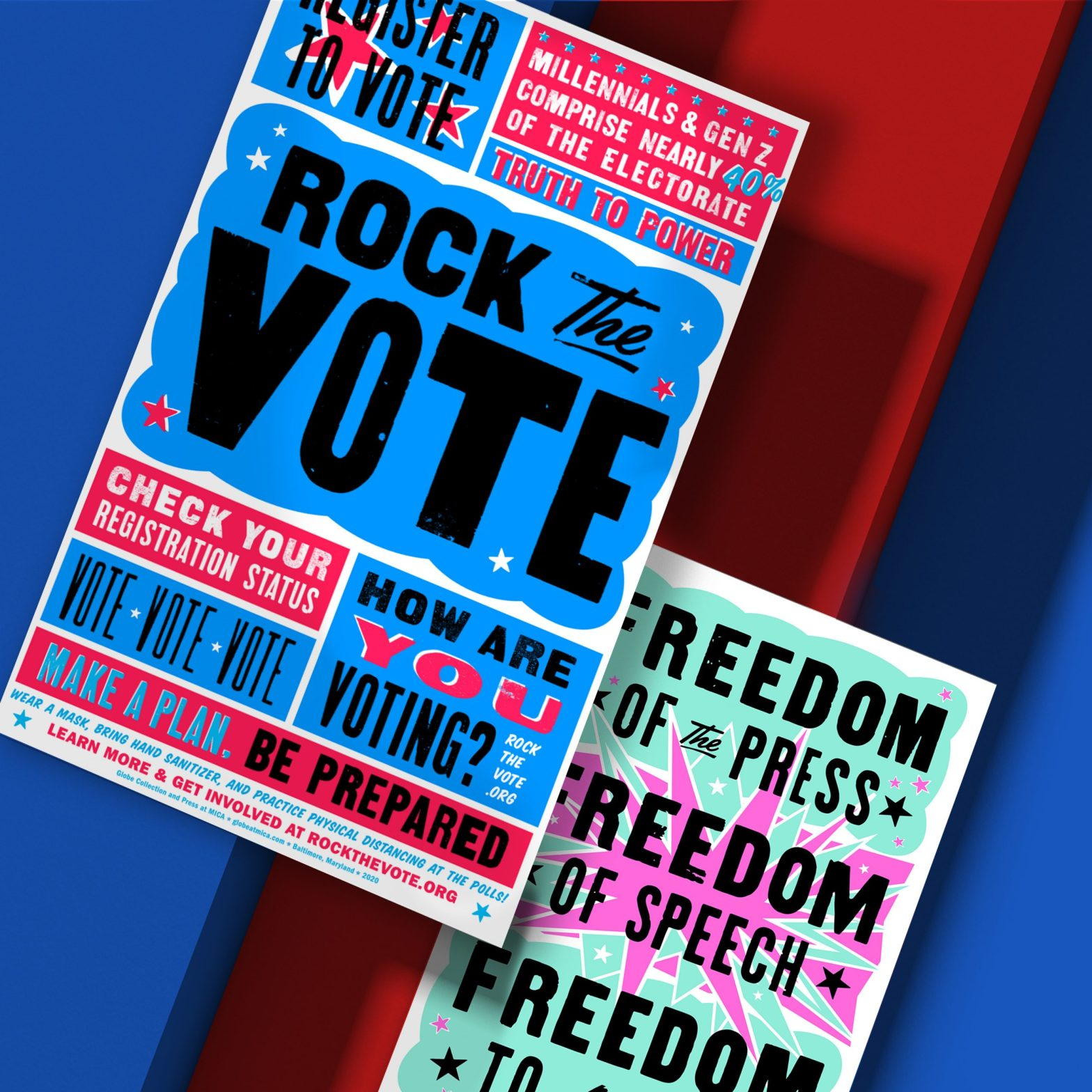 Thumbnail for Going Letterpress to Rock the Vote
